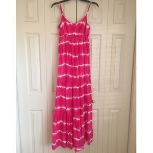 Aeropostale casual tie dye maxi dress
